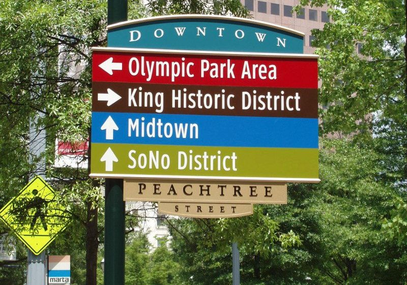 Atlanta Downtown Sign